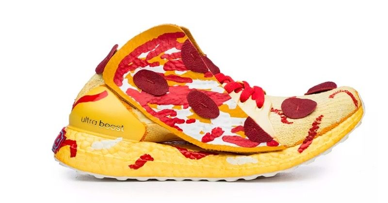 Foodporn pizzashoes adidas