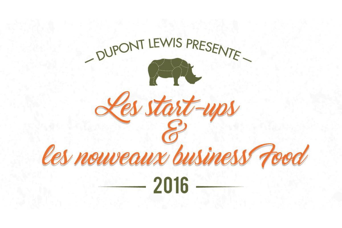 start up et nouveaux business food