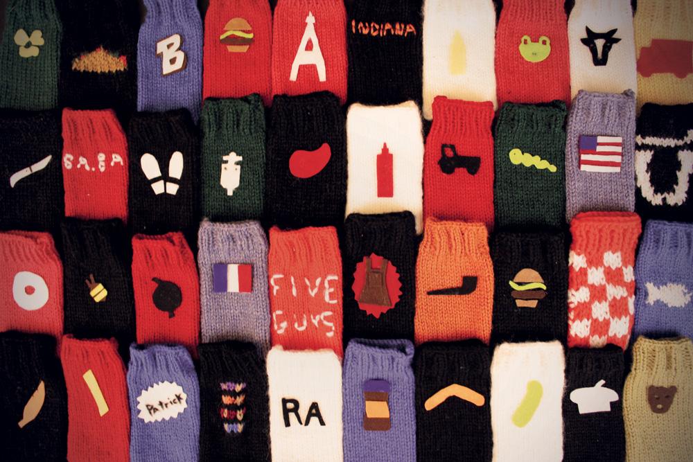 Références clients en tricot