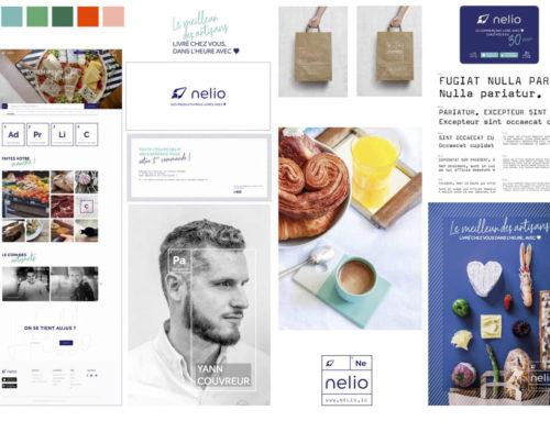 Dupont Lewis signe le branding et l'identité visuelle de Nelio