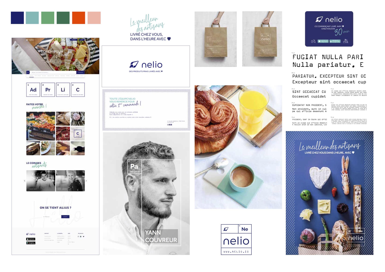 Nelio confie son branding et son identité visuelle à l'agence Dupont Lewis.