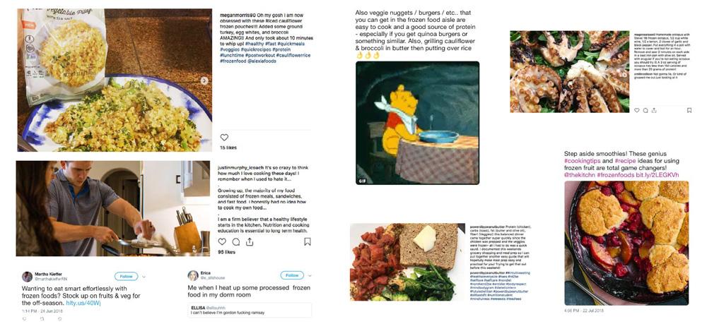 Les produits surgelés comme soutien culinaire : alimentation surgelée pour adultes