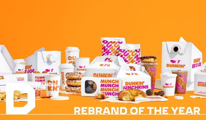 Rebranding de la marque alimentaire Dunkin