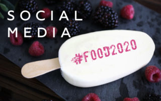 Social Media Hashtag Food 2020