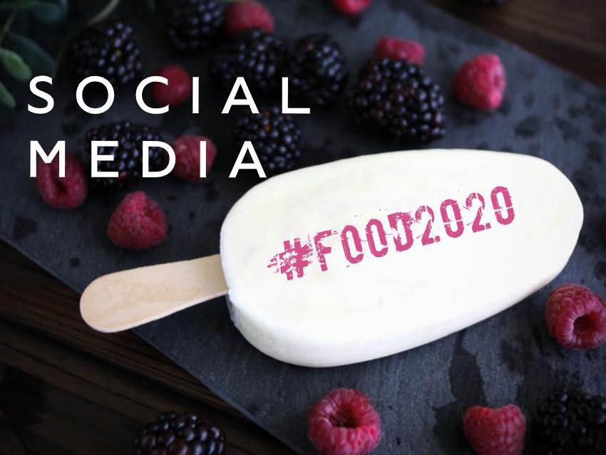 Social Media Hashtag Food 2020
